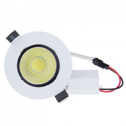 LED CEILING COB LIGHT, 3W, COLD WHITE, 12V