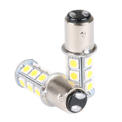 LED MARINE BULB 12VDC WARM WHITE 1157-5050-18SMD