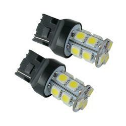 LED AUTO BRAKE LAMP, T20-5050-13SMD, W, 12V HI/LO