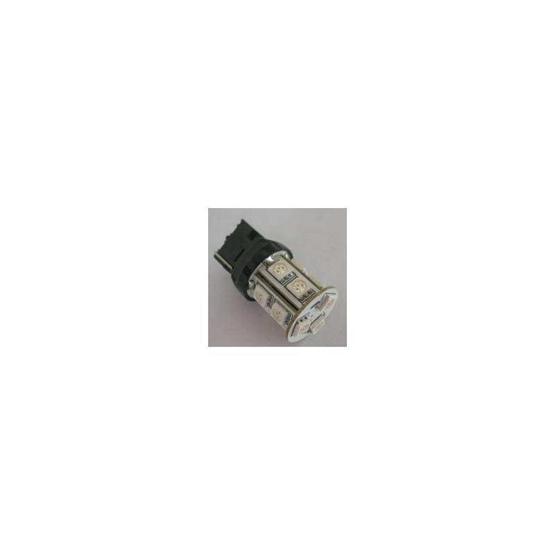 LED AUTO BRAKE LAMP, T20-5050-13SMD, YELLOW, 12V
