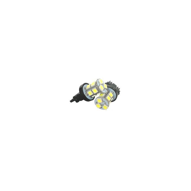 LED AUTO BRAKE LAMP, T20-5050-13SMD, WHITE, 12V