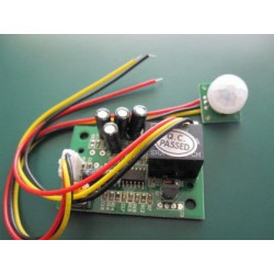 PIR MOTION SENSOR BREAKOUT W/ RELAY AND DELAY