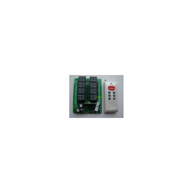 REMOTE 8-WAY RELAY CONTROLLER NT-K08N