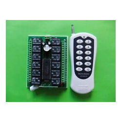 REMOTE 12-WAY RELAY CONTROL PROGRAMMABLE