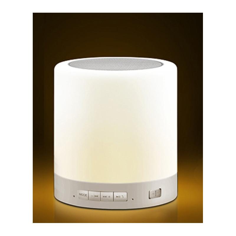 PORTABLE DESKTOP TOUCH ON OFF LAMP W/ SPEAKER