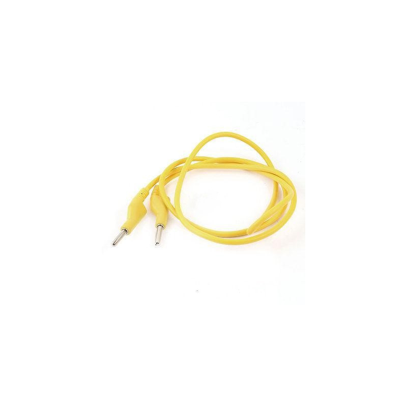 MULTIMETER CABLE BANANA TO BANANA (YELLOW)