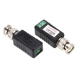 BNC TWISTED PAIR VIDEO TRANSCEIVER CCTV