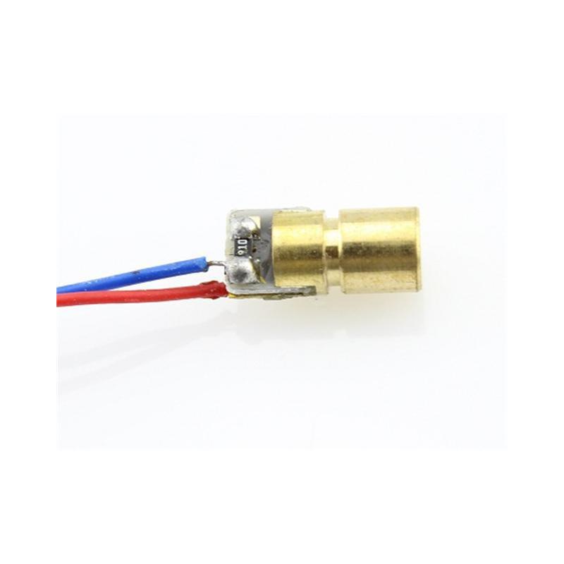 LASER POINTER (SMALL) 3V 18MA ADD 22 OHM 2.5MA