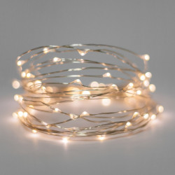 LED STRING LIGHT WARM WHITE EXTEND 3V