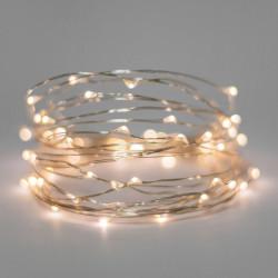 LED STRING LIGHT WARM WHITE EXTEND 3V