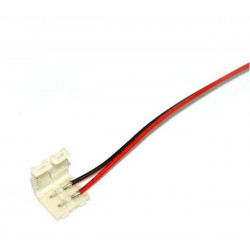 CONNECTOR, 3528, SINGLE-SIDED, CLIP-ON, 2 WIRES