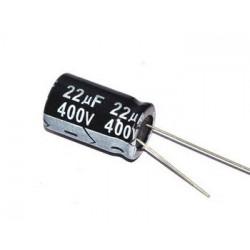 ELECTROLYTIC CAP 400V 22UF 105C