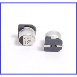 ELECTROLYTIC CAP 4V 220UF SMD
