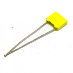 METALIZED POLYESTER CAP 63V 0.1UF 5PCS