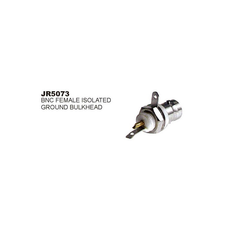 BNC JACK INSULATED CHASSIS MOUNT SLF-5073