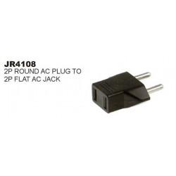 MULTI PLUG 2-FLAT TO 2-ROUND SLF-4108