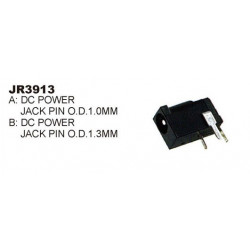 DC POWER JACK PCB MOUNT 1.0MM SLF-3913A