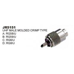 UHF PLUG /PL259 RG-59/U SLF-5151B