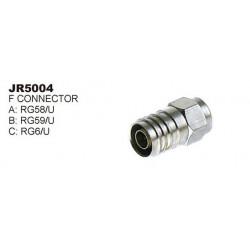 RG-6 CONNECTOR SLF-5004 2PCS