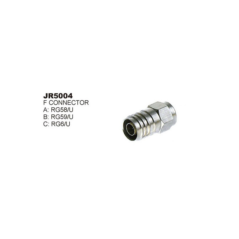 RG-6 CONNECTOR SLF-5004 2PCS