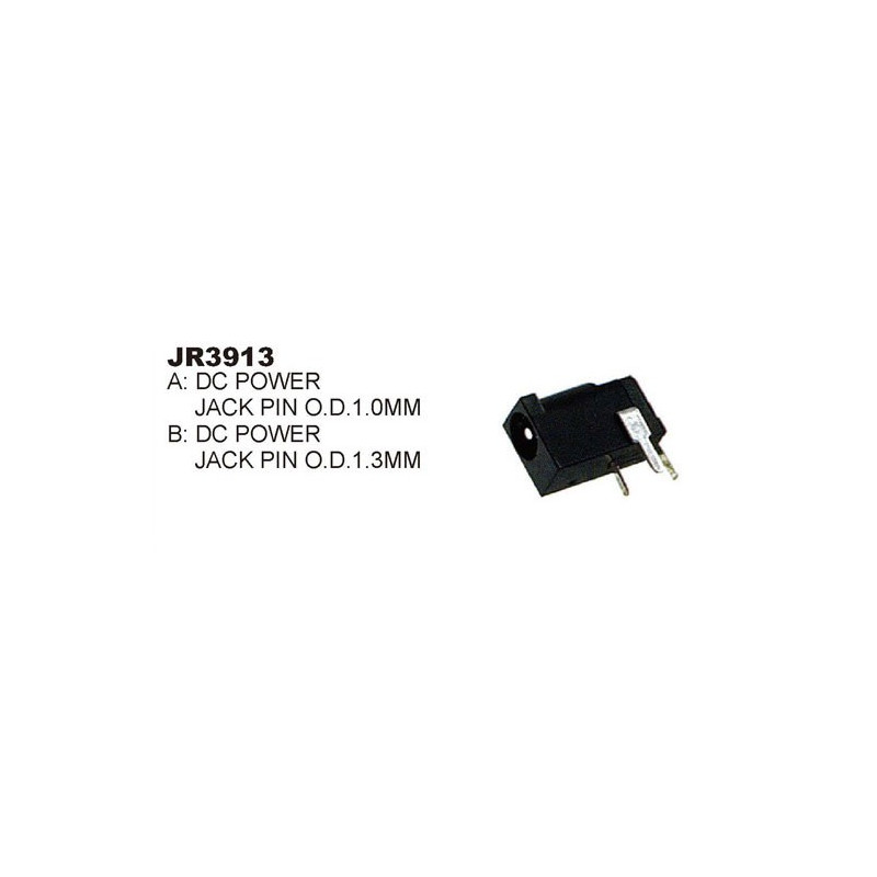 DC POWER JACK 1.3MM PCB MOUNT SLF-3913B