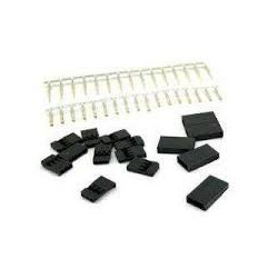 FUTABA CRIMP CONNECTORS 3PIN MINI 2PCS/SET