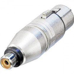 XLR 3-PIN FEMALE TO RCA FEMALE SLF-5860