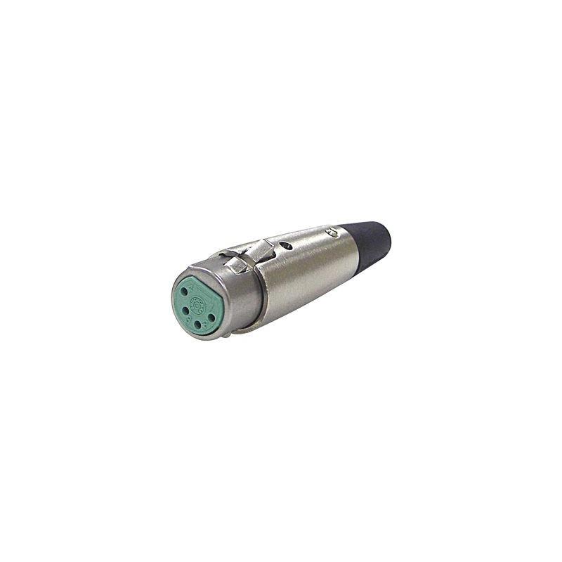 XLR 4-PIN FEMALE CONNECTOR SLF-5011