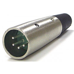 XLR 4-PIN MALE CONNECTOR SLF-5012