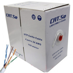 ETHERNET CABLE RJ-45 CAT5E GREY PER FT