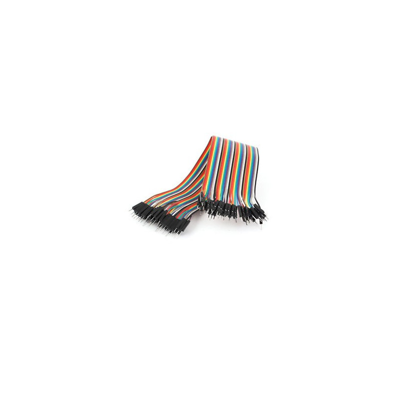 FLAT JUMPER CABLE 40 PIN M/M210MM