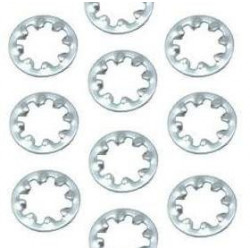 M3 STAR WASHERS 20 PCS