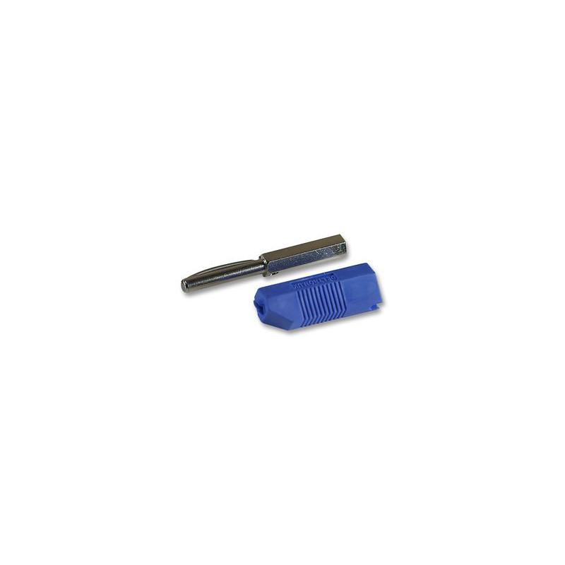 BANANA PLUG DELTRON 553 BLUE