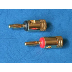 BANANA AUDIO PLUG JR-0812 PAIR/PKG