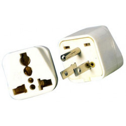 MULTI-POWER PLUG NORTH AMERICA 3 PRONG