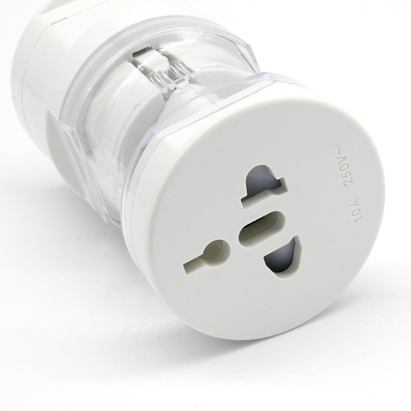 MULTISOCKET POWER PLUG ALL-IN-ONE(ROUND)