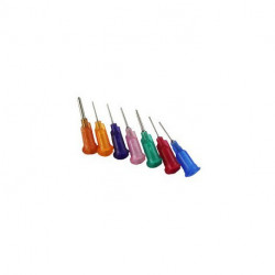 TOOL, SYRINGE NEEDLE REPLACEMENT 18 AWG PINK