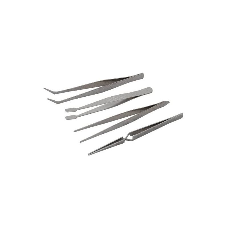 TOOL, TWEEZER SET 4 PIECE PACK