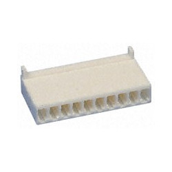 10-WAY 2.54MM SOCKET (FEMALE) 2PCS