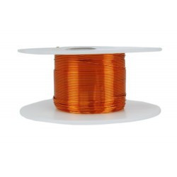 ENAMEL MAGNET WIRE, AWG 30 (1/2 LB), APPROX 1569 FT