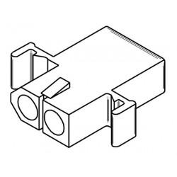 """MOLEX CONNECTORS, 2POS, (M/F), 0.062"""""""