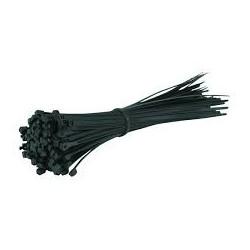 CABLE TIE, 150M, BLACK, 100 PCS