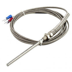 THERMOCOUPLES - K TYPE 800C WRN-291 100MM ROD