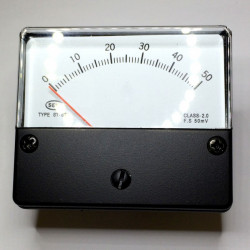 PANEL METER ST-670 500MA DC