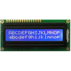 LCD DISPLAY 2X16 TS1620-9 (BLUE)