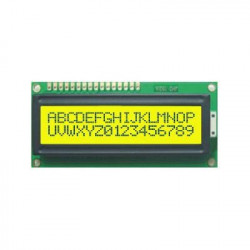 LCD DISPLAY 2X16 TS1620-1 (GREEN)