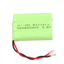 BATTERY CORDLESS PHONE NiMH 3.6V 800mAH/AAAX3 WIRE
