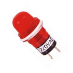 PILOT LAMP NEON-LAMP 120V AC RED N-006