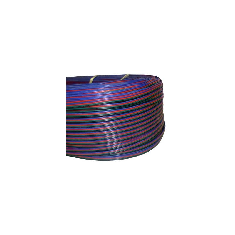 4 CORE WIRE FLAT (RGB) 4 X 22AWG