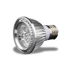 LED, PAR20, 5X1W, 85-264V, 3000-3500K, WARM WHITE